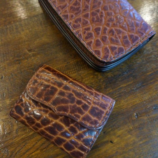 高級バイソンレザー wallet image