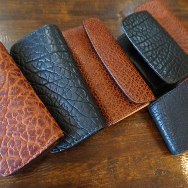 高級バイソンレザー wallet