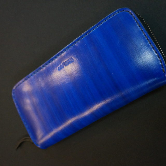 A LEATHER FACTORY original color wood blue