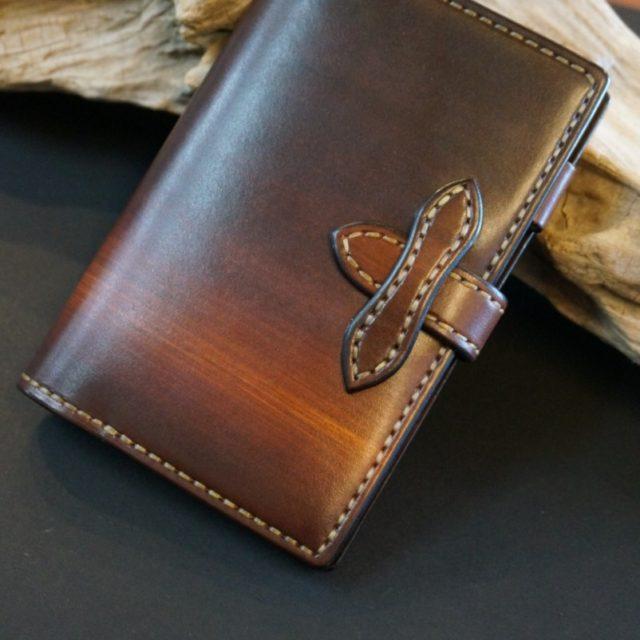 ray woodbrown 手帳カバー