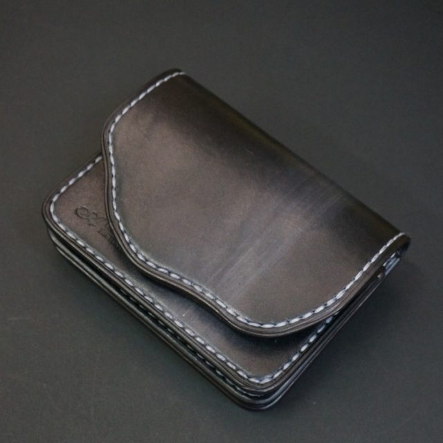 ray black mini wallet