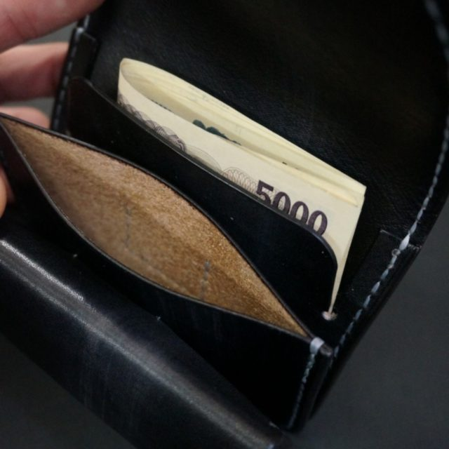 ray black mini wallet image