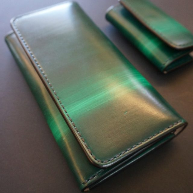 ray wood green  02 ロングウォレット image