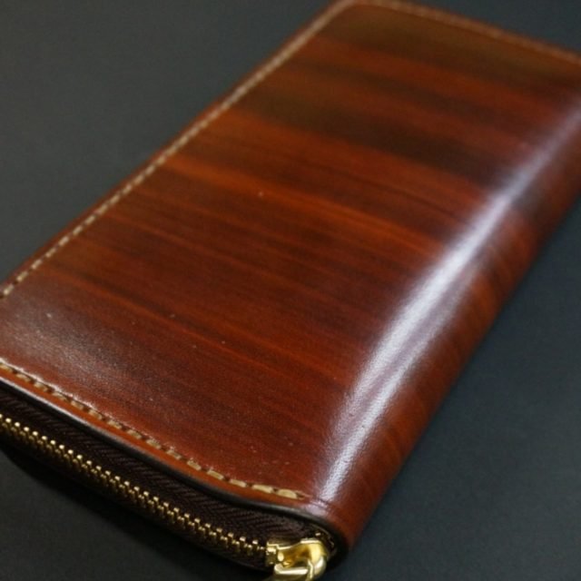 light wood brown ラウンドファスナーカード12枚タイプ image
