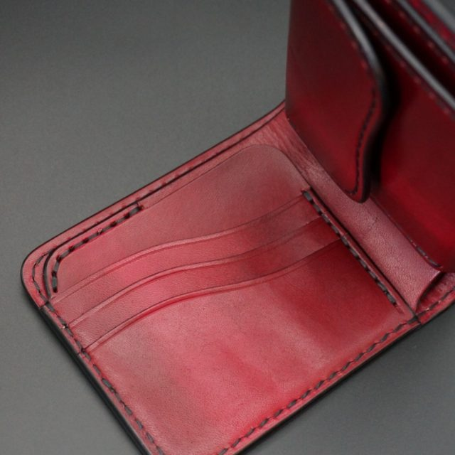 ray wood red short wallet image
