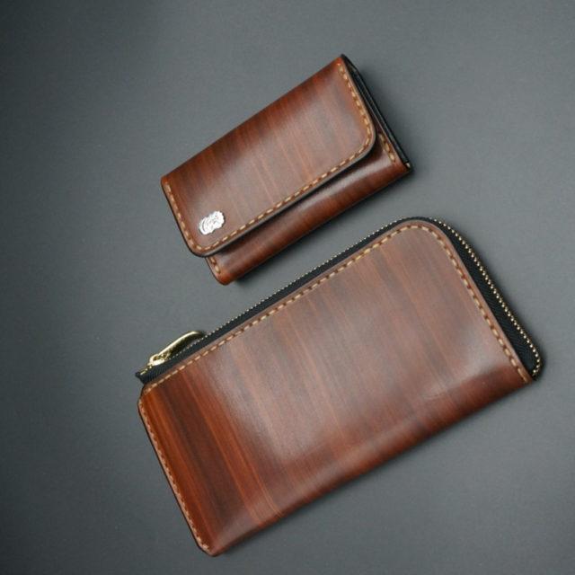 L字ファスナーロング wood brown image