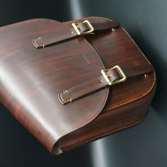 wood brown サドルバッグ image