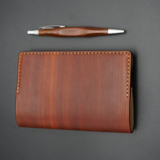 wood brown ブックカバー image